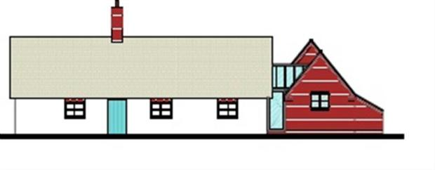 Proposed Front Elevation