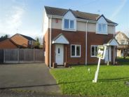 2 bedroom semi detached home in Caernarfon Drive...