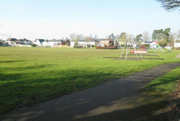 Local park to rear