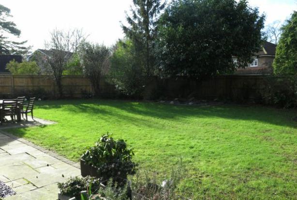 Southerly aspect Rear Garden