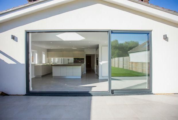 Rear sliding doors