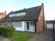 3 bedroom semi detached home in Harkness Way, HITCHIN...
