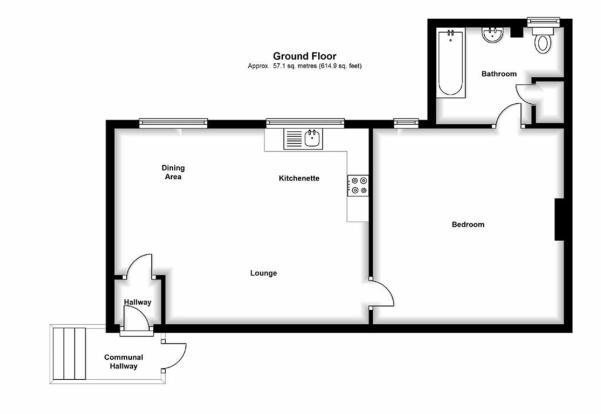 FLAT 2 B (1st floor)