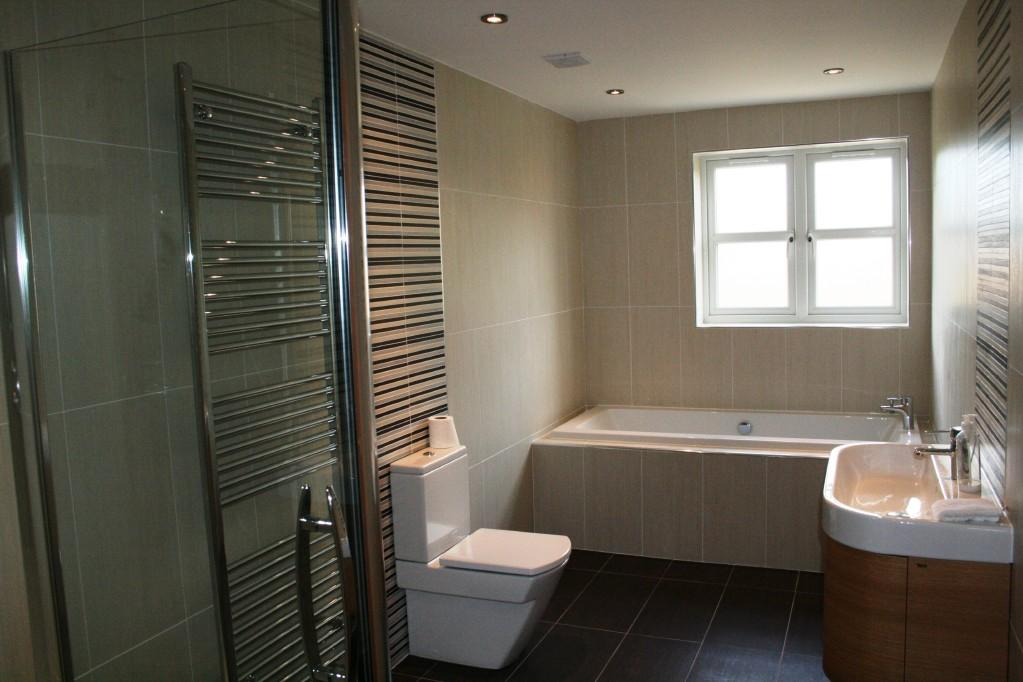 5 bedroom detached house for sale in wolsey house for Show home bathrooms
