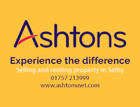 Get brand editions for Ashtons Estate Agents, Selby