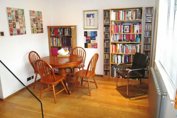 OPEN PLAN STUDY/DINING ROOM
