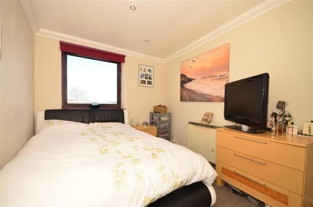 Archway bedroom