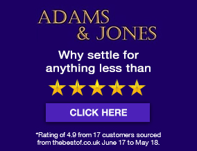 Get brand editions for Adams & Jones Estate Agents, Market Harborough
