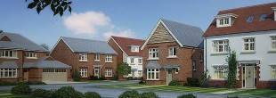 Aurora Spring by Redrow Homes, Long Down Avenue,
