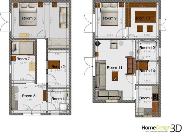 estimated floor plan