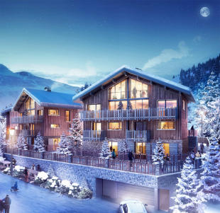 new development for sale in La Plagne, Savoie...