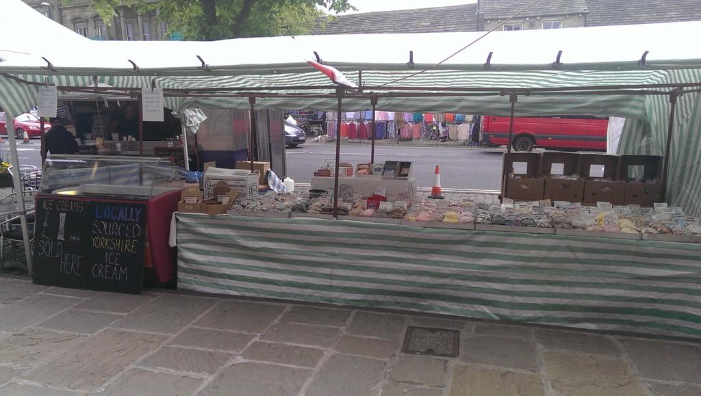 how to run a market stall uk