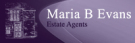 Maria B Evans Estate Agents, Maria B Evans Estate Agents branch logo