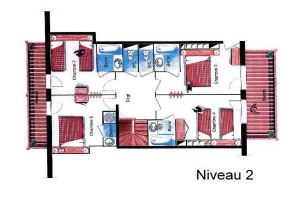Floor plan Level 2