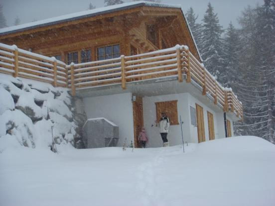The chalet in the sn