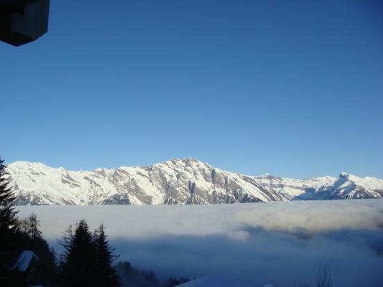 The amazing views