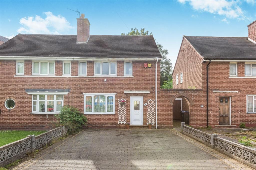 2 Bedroom Semi Detached House For Sale In Brookbank Avenue Birmingham B34