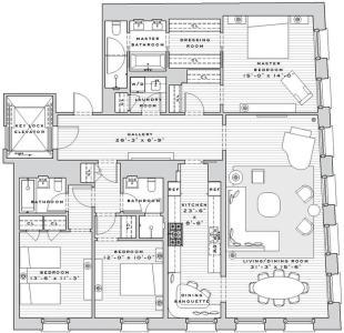 Apartment in 7 Harrison Street...