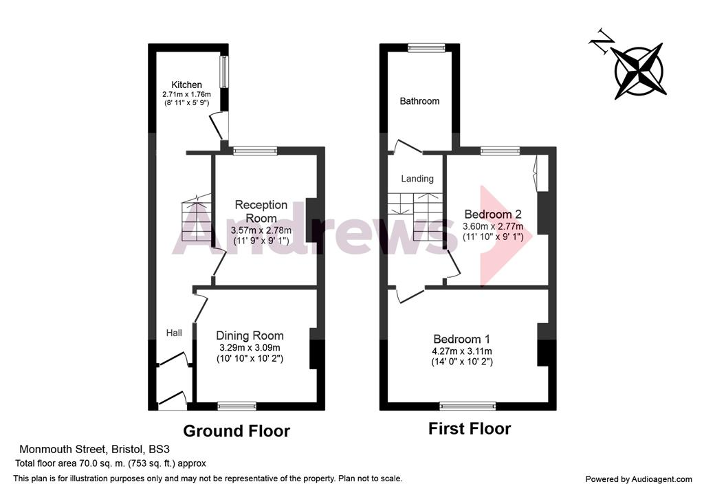 28 Monmouth Floor Plan