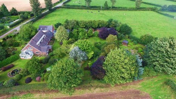 Aerial view ov...