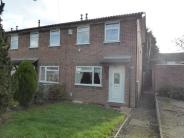 2 bed semi detached home in Dickens Drive, Kettering...