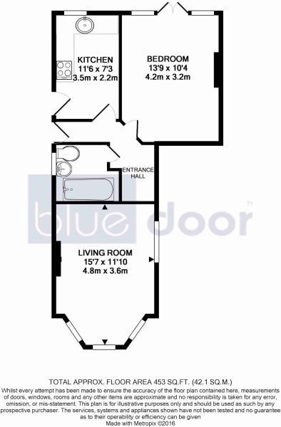 Ground floor flat
