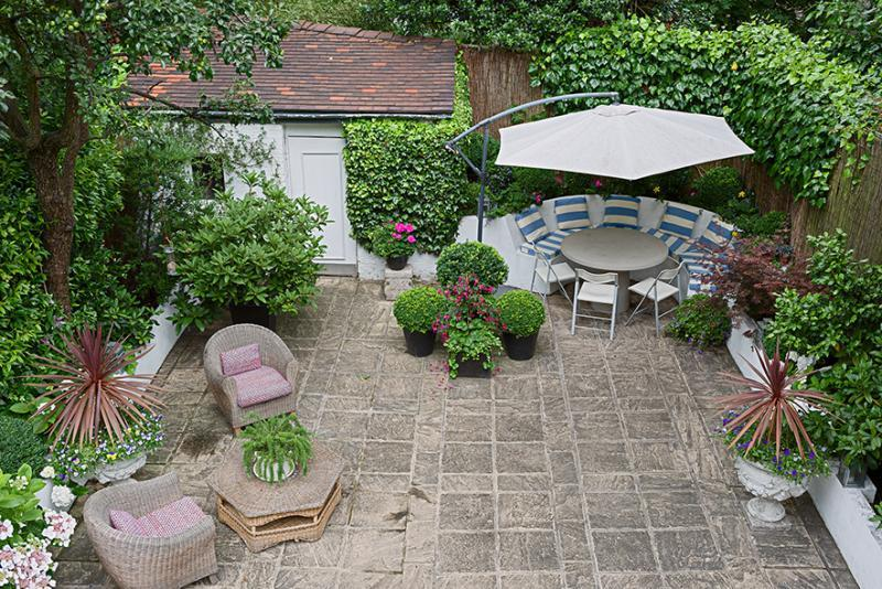 small backyard patio design ideas - Patio Garden Ideas