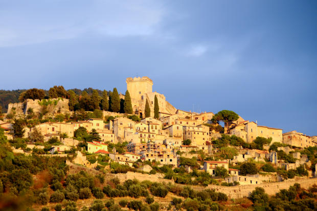 View of Sermoneta