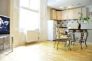 Studio apartment in Linden Gardens, London...