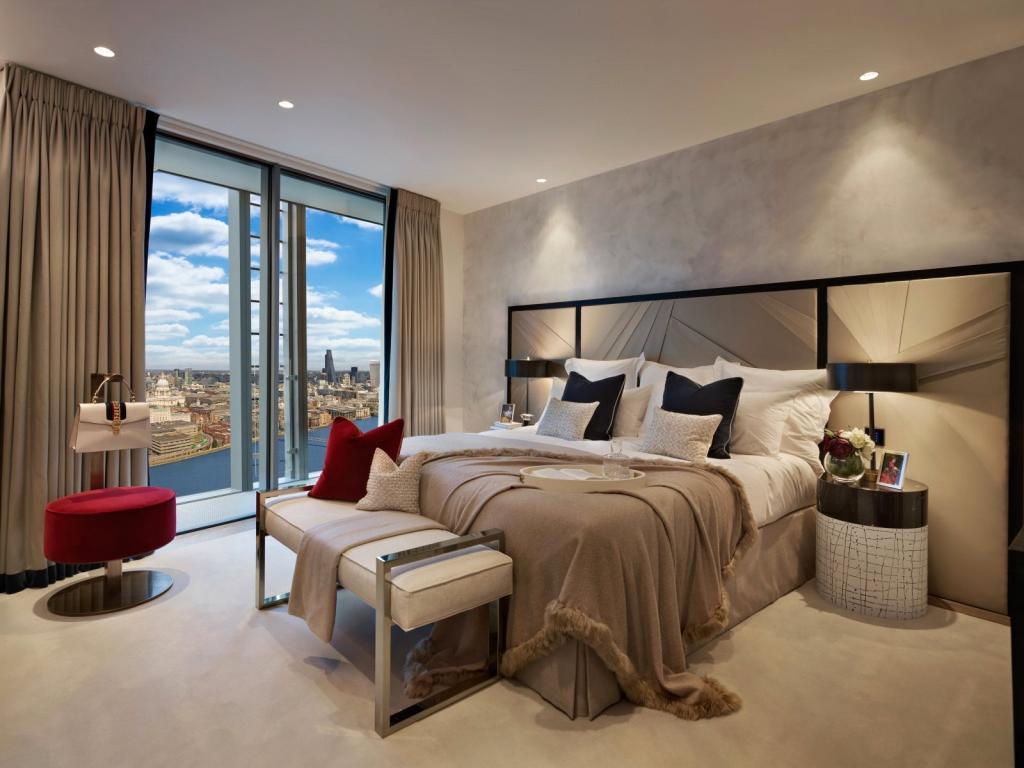 One Blackfriars,Master Bedroom