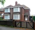 semi detached property in Cross Road...