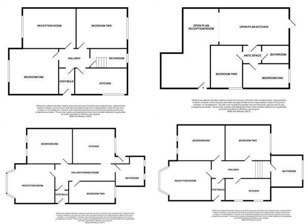 6 Denman Floor Plans