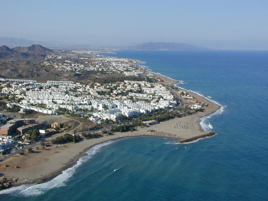 Local coastline