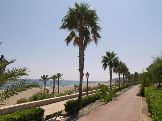 Mojácar promenade