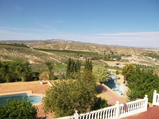 Uooer terrace views