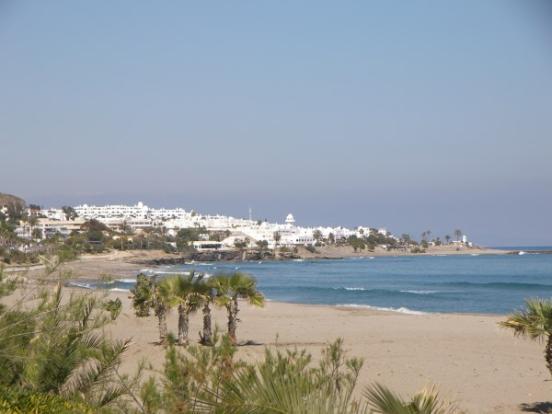 Mojacar coastline