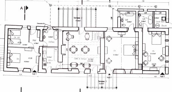 Gite Ground floor