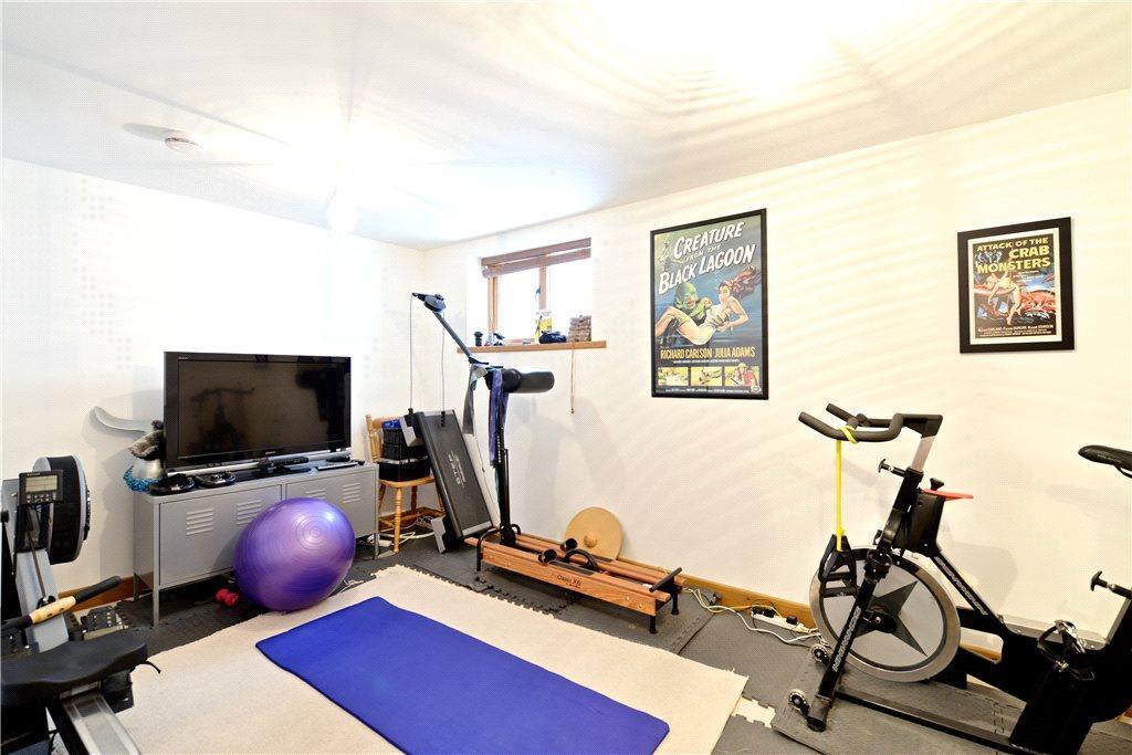 Bedroom/Gymnasium