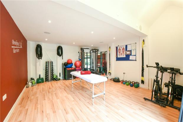 Gym/Home Office