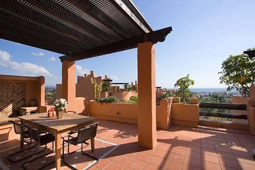 Main terrace views