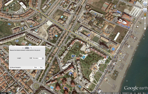 Exact location map