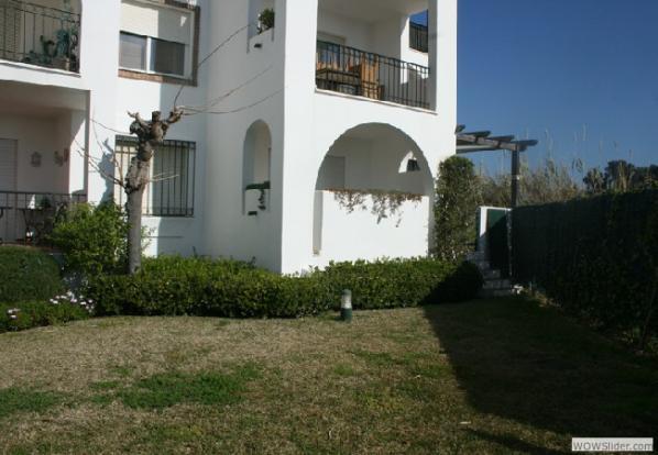 Gardens to apartment