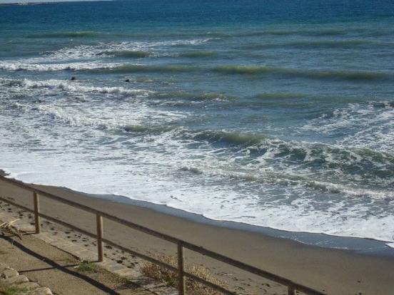 Frontline beach