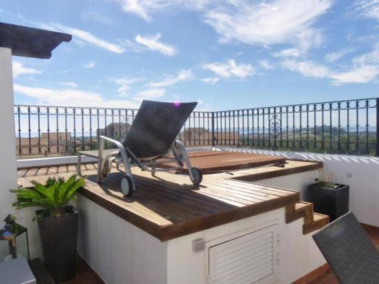 Master suite terrace