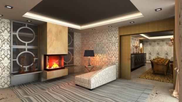 Lounge/ fireplace