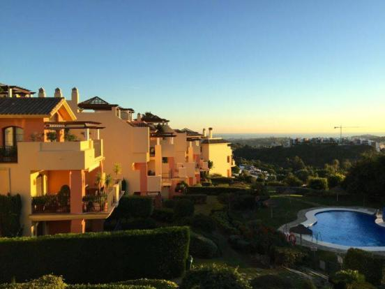 Terrace view evening