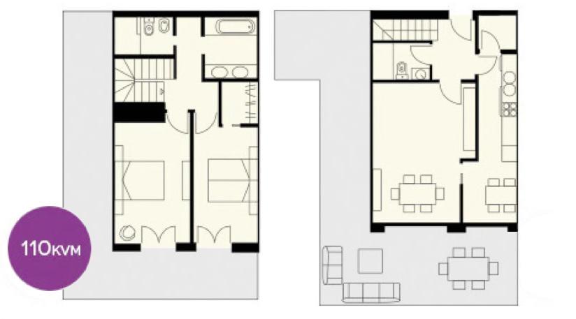 Plans entrance level