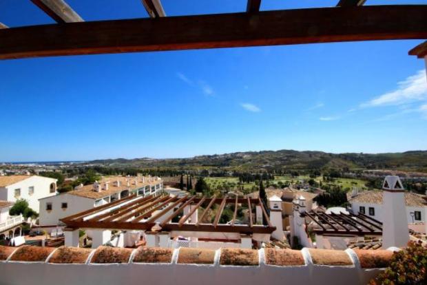 Terrace views south