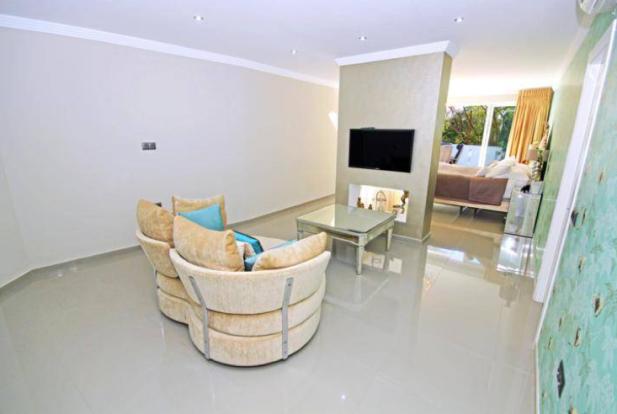 Master suite TV area