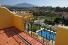 Terrace over pool